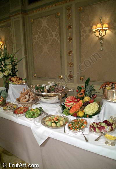 Buffets. FrutArt. Photo Gallery. Fruit Carving. FruitArt. Fruit Art.